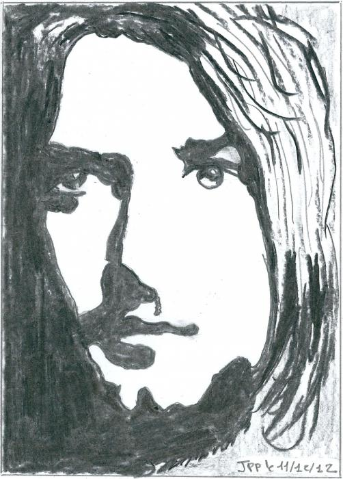 Kurt Cobain by Boiteadessins